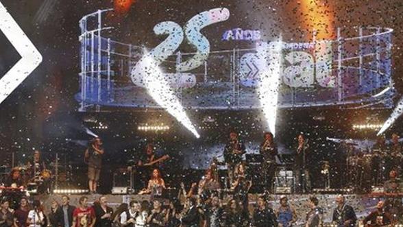 25 Aniversario Cadena Dial - Diseño de visuales